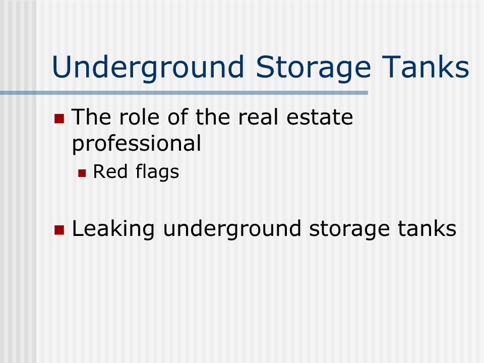 Underground Storage Tanks Definition EPA regulation under RCRA EPA updated regulations Exempt tanks