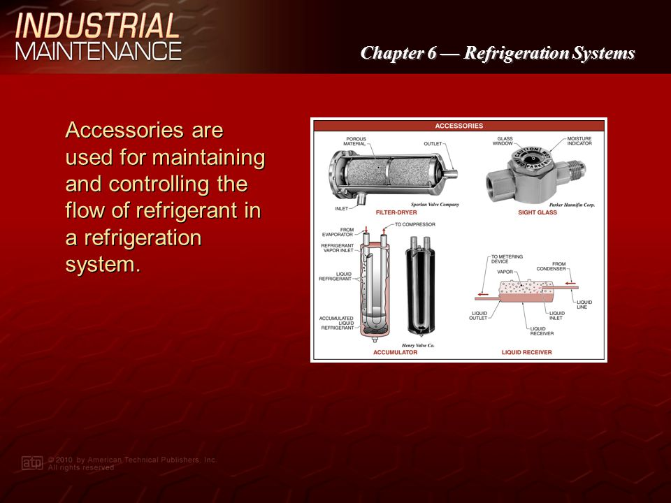 Chapter 6 Refrigeration Systems An evaporator pressure regulating valve allows two evaporators running from the same compressor to maintain different