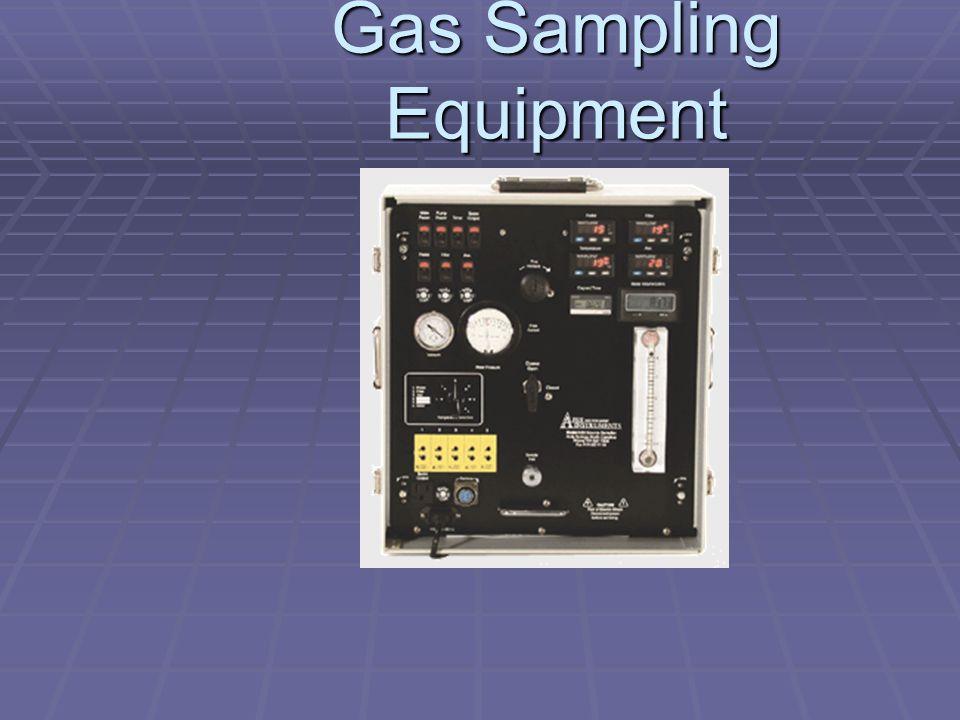 Gas Sampling Equipment