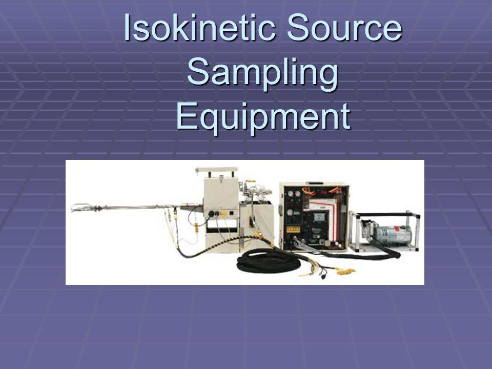 Isokinetic Source Sampling Equipment