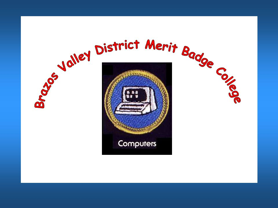 Scouts, if you have viewed the power point presentation from the beginning to the end, and filled out the workbook, you have completed the following merit badge requirements.
