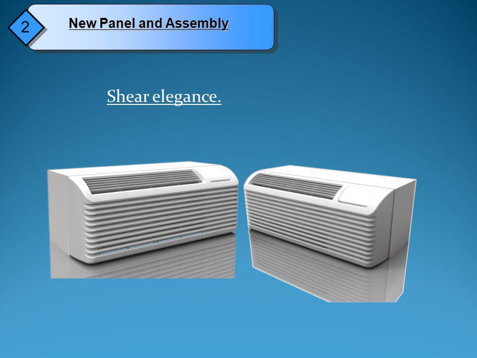 Drainage tray and Base pan designed for enhanced drainage.