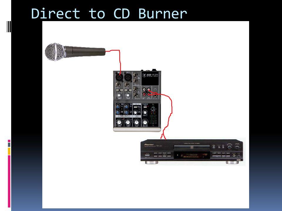 Direct to CD Burner