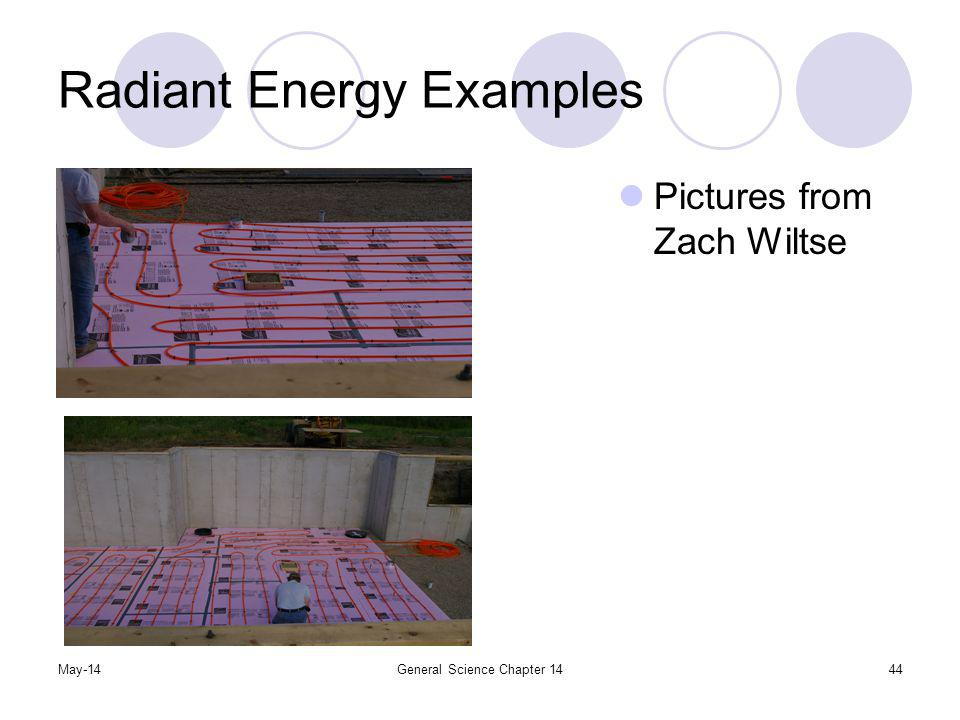 May-14General Science Chapter 1444 Radiant Energy Examples Pictures from Zach Wiltse