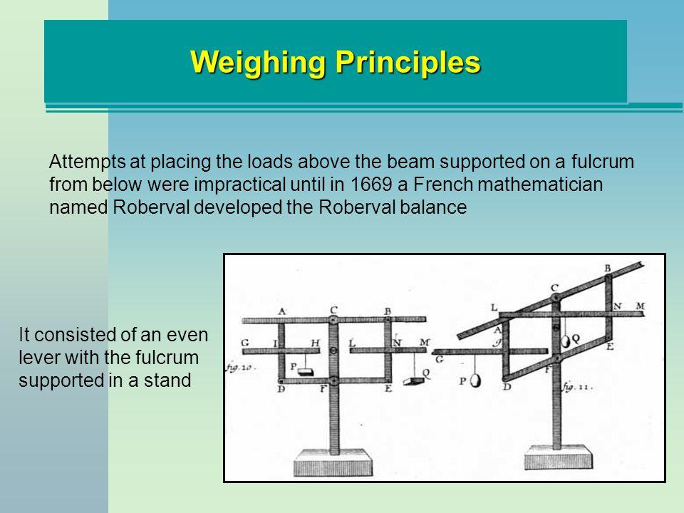 SummarySummary Measuring Principles Type of Flow Meters Metering Considerations Weighing Principles Lever Principles Indicators Load Cells