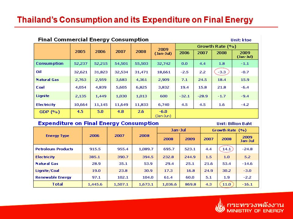 Value of Energy Import