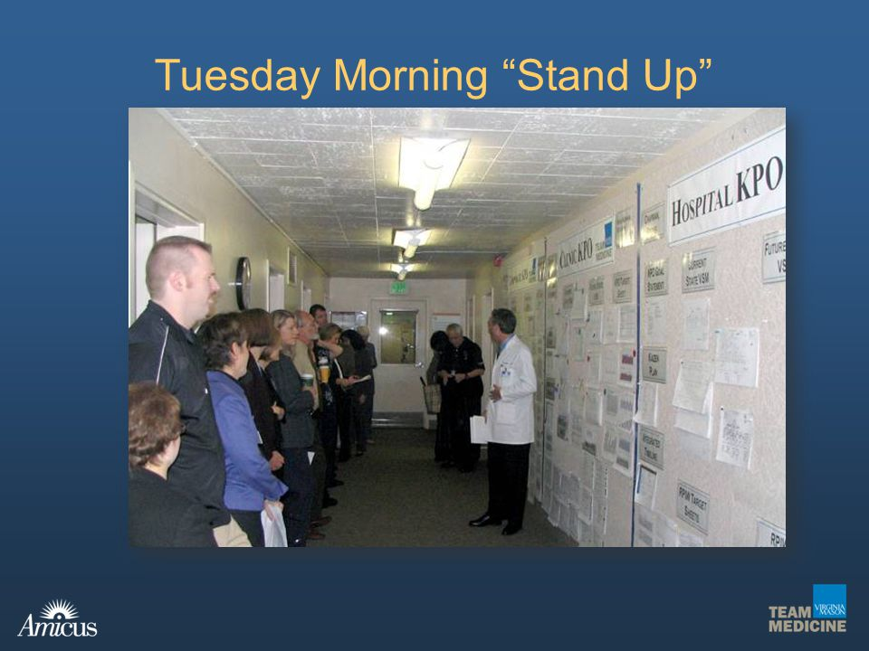 Tuesday Morning Stand Up