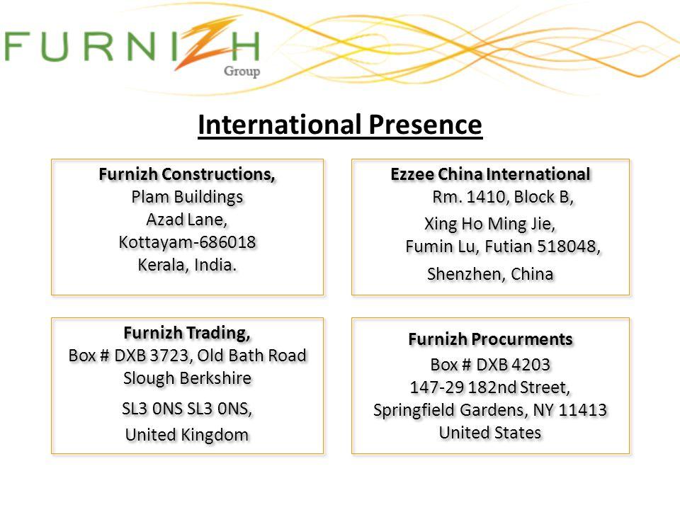 International Presence Furnizh Procurments Box # DXB 4203 147-29 182nd Street, Springfield Gardens, NY 11413 United States Furnizh Procurments Box # D