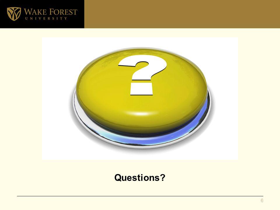 Questions 6