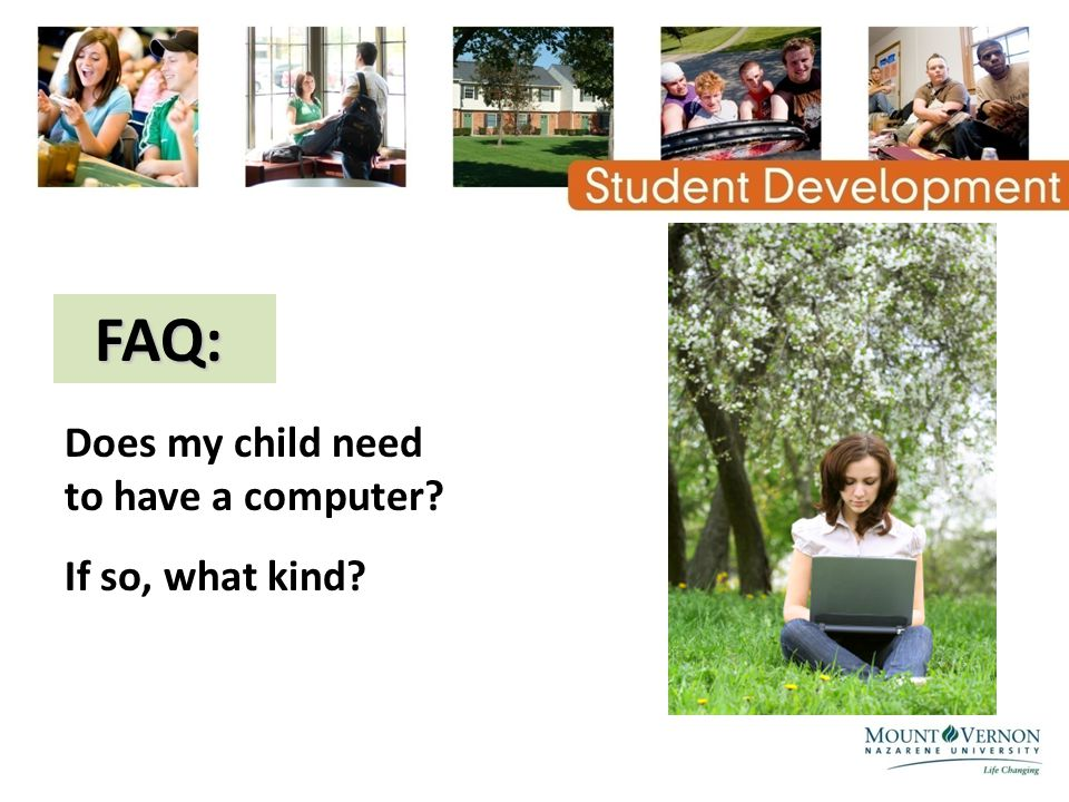 FAQ: FAQ: Does my child need to have a computer? If so, what kind?