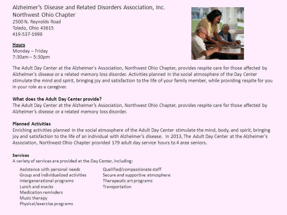Alzheimers Disease and Related Disorders Association, Inc.
