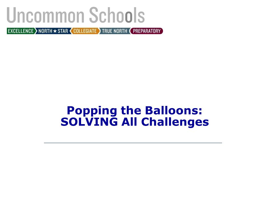 Popping the Balloons: SOLVING All Challenges