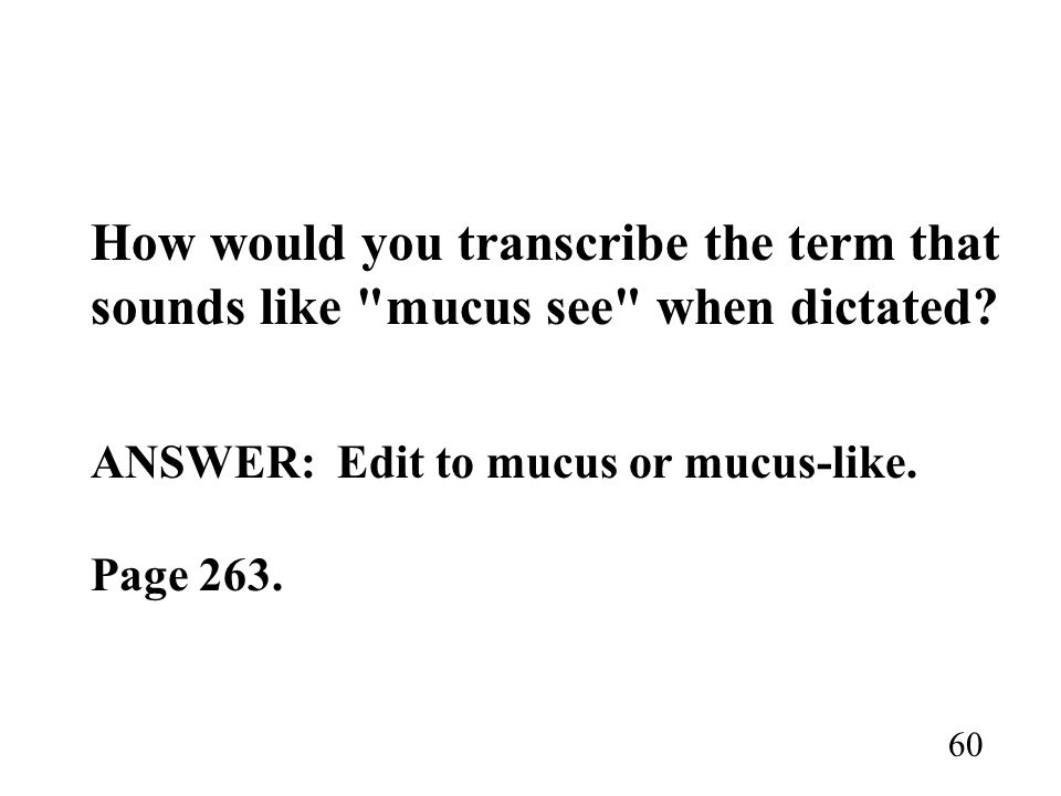 How would you transcribe the term that sounds like
