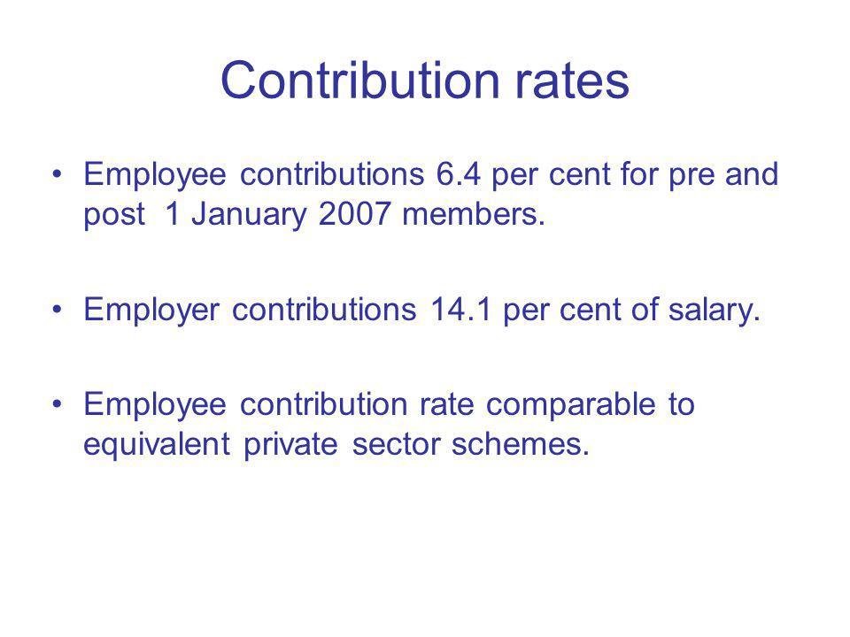 Teachers Pension Scheme Thats it!
