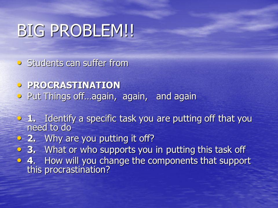 BIG PROBLEM!.