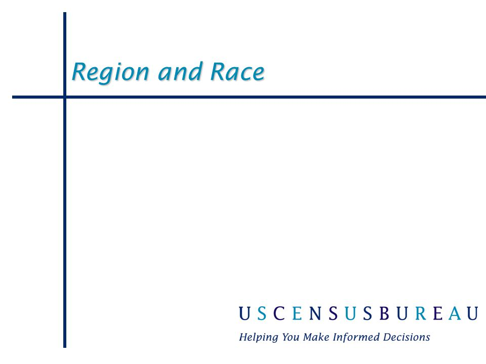 Region and Race