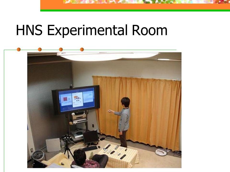 HNS Experimental Room
