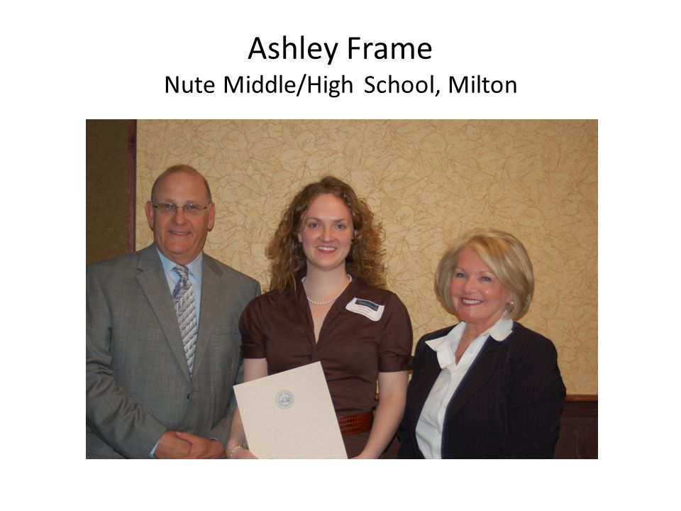 Ashley Frame Nute Middle/High School, Milton
