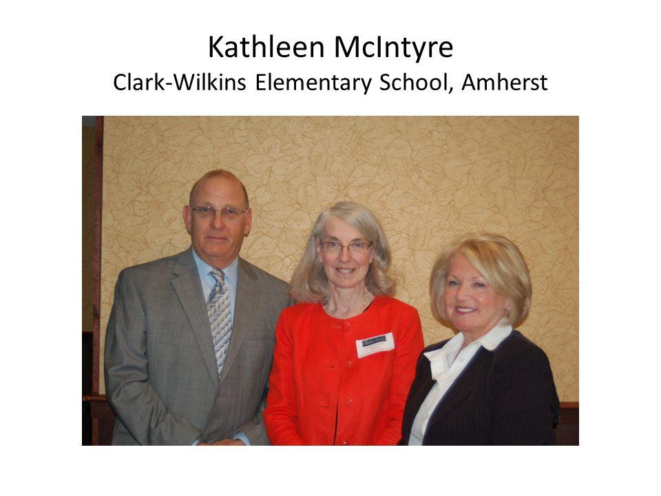 Kathleen McIntyre Clark-Wilkins Elementary School, Amherst
