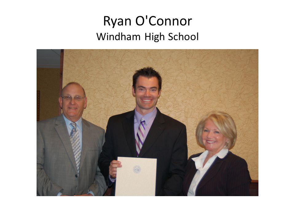 Ryan O'Connor Windham High School
