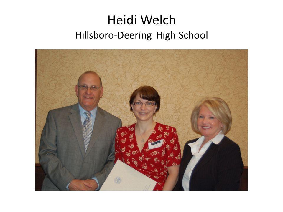 Heidi Welch Hillsboro-Deering High School