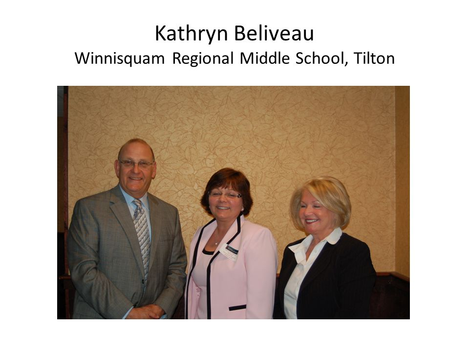 Kathryn Beliveau Winnisquam Regional Middle School, Tilton