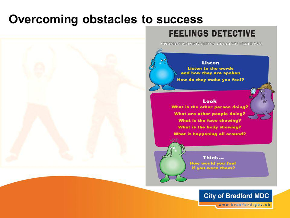 Overcoming obstacles to success