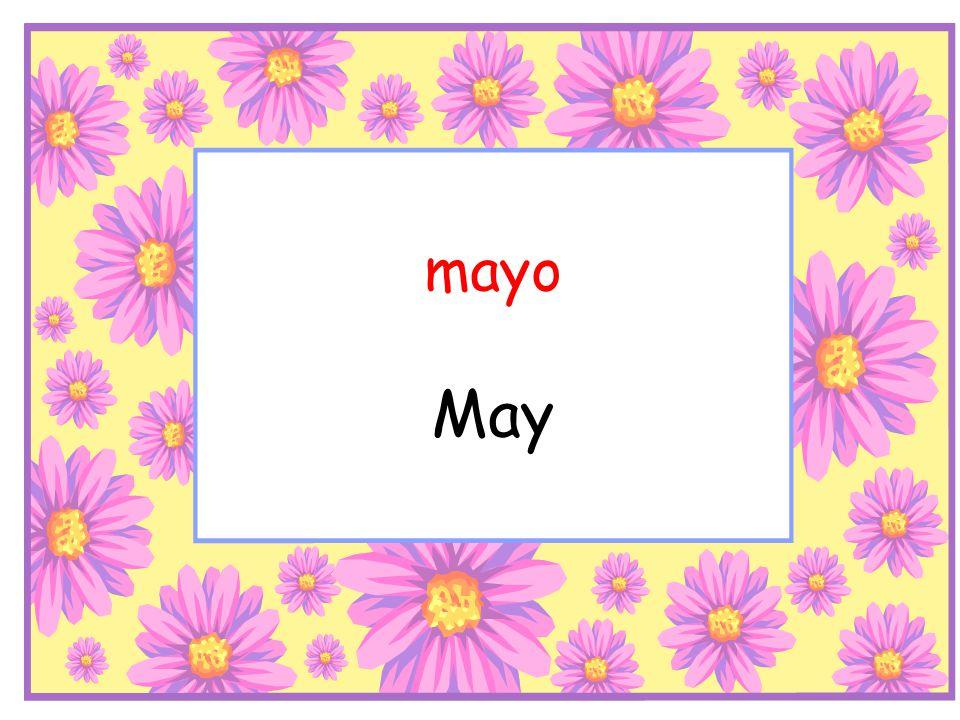 mayo May