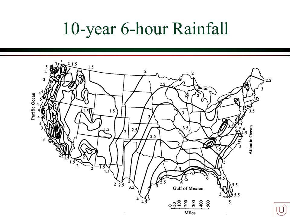 10-year 6-hour Rainfall