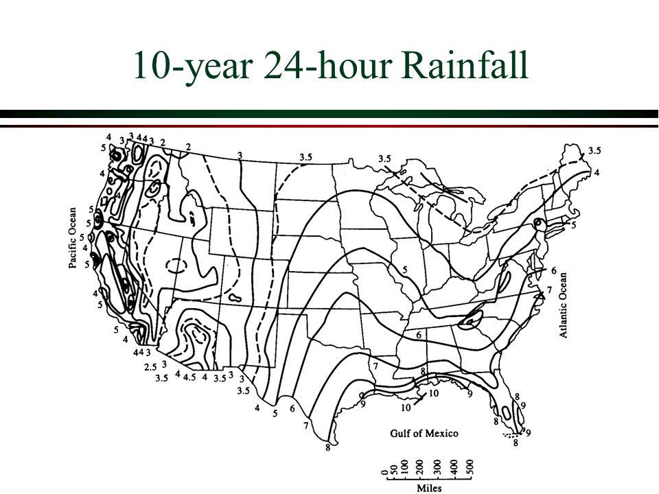 10-year 24-hour Rainfall