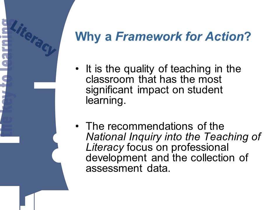 It is the quality of teaching in the classroom that has the most significant impact on student learning.