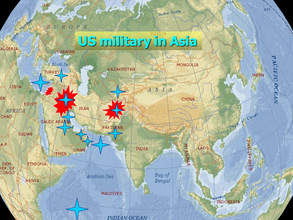 24 US military in Asia