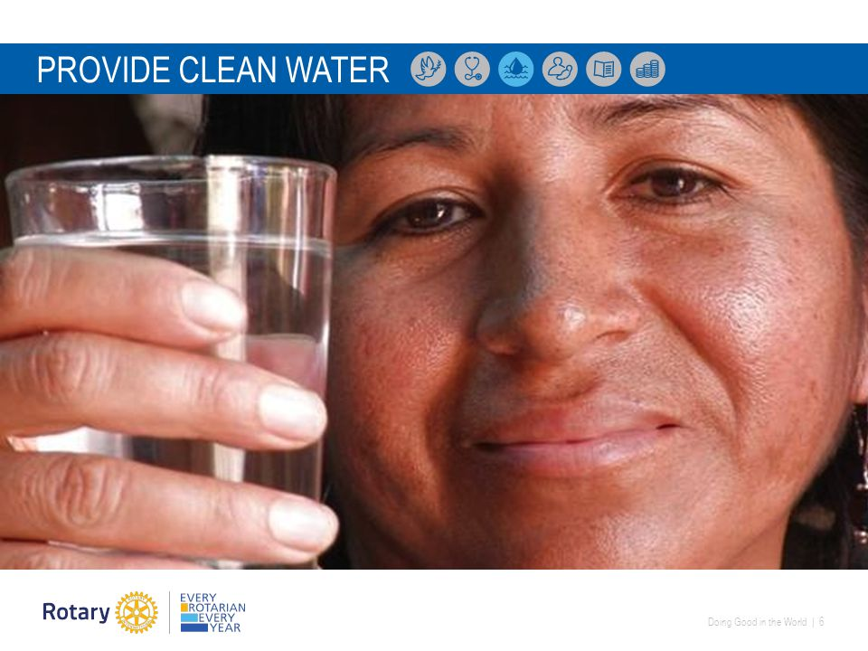 Doing Good in the World | 6 PROVIDE CLEAN WATER