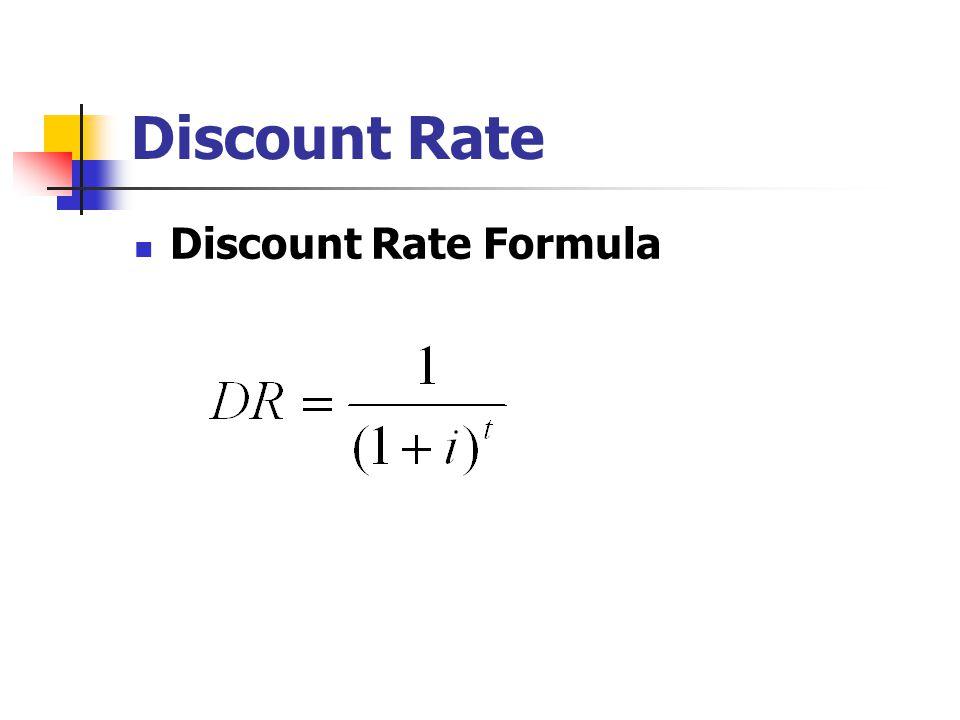 Discount Rate Discount Rate Formula