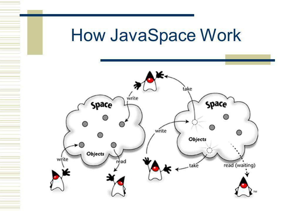 How JavaSpace Work
