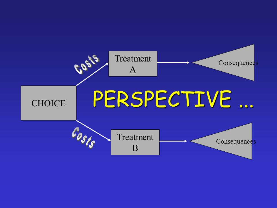CHOICE Treatment A Treatment B Consequences PERSPECTIVE...