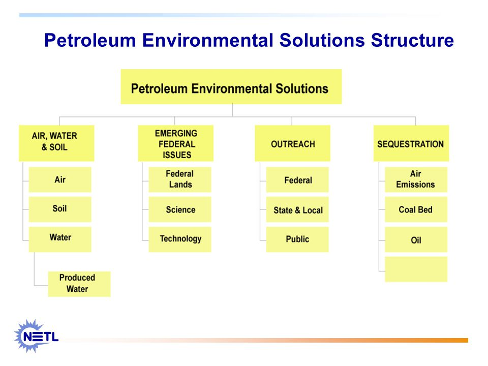 Petroleum Environmental Solutions Structure