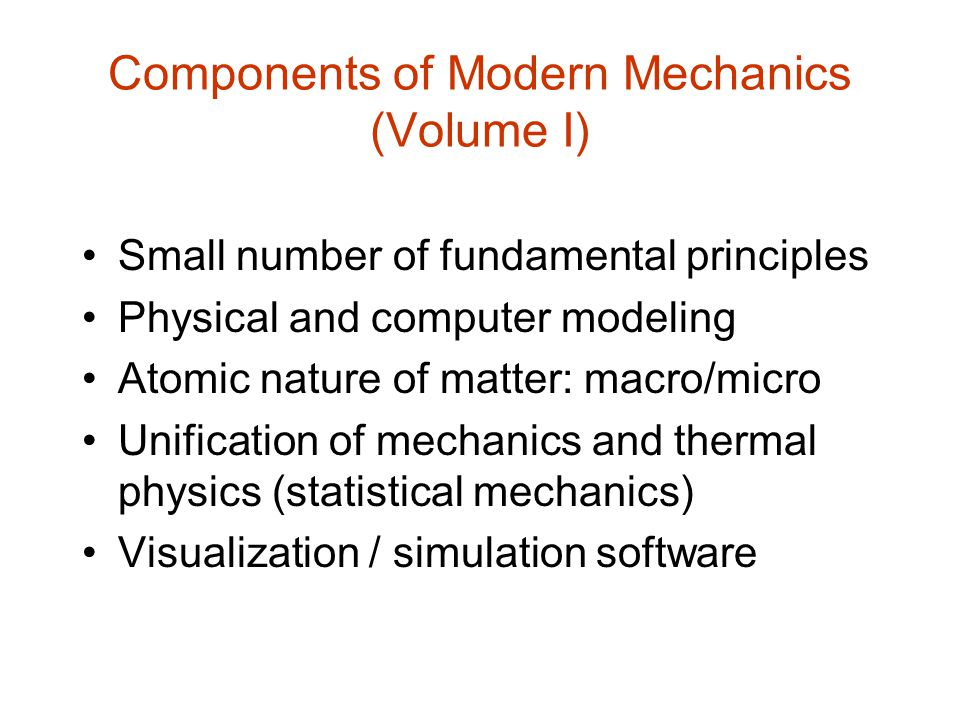 More Homework Examples The following slides show additional examples of homework problems that engage the student in physical modeling