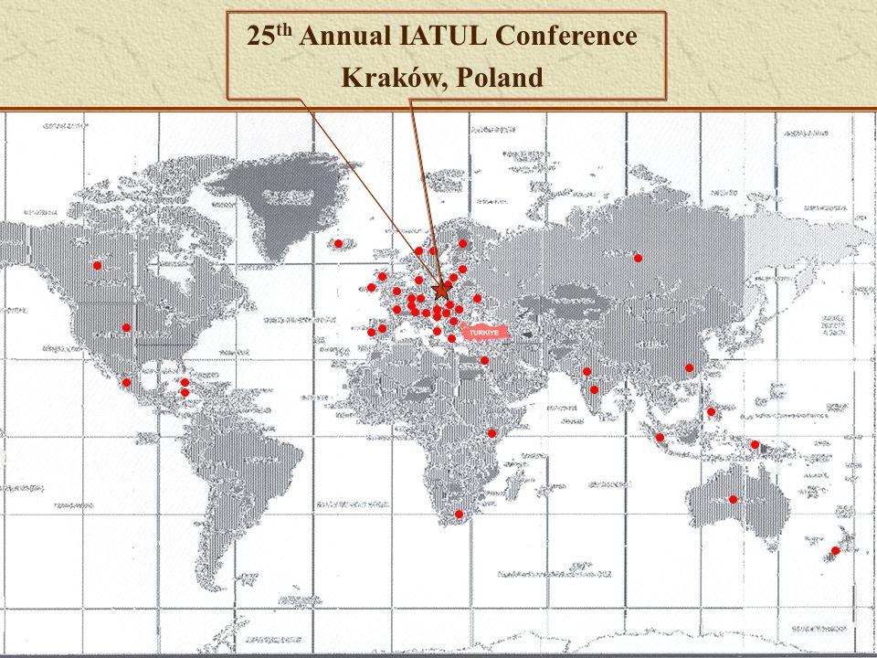 25 th Annual IATUL Conference Kraków, Poland