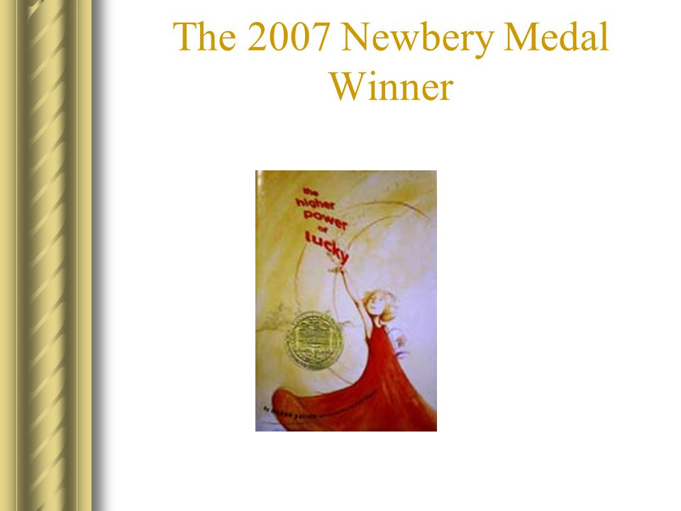 The 2007 Newbery Medal Winner