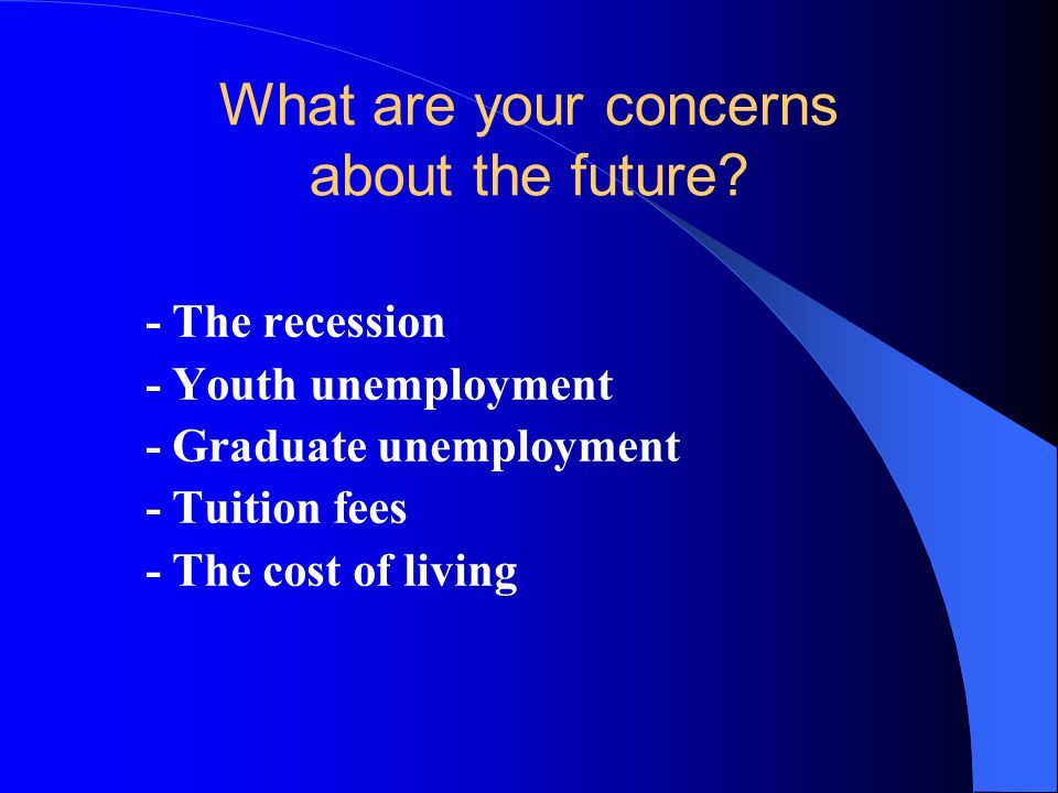 YOUR OPTIONS Which of these options do you think would be most appropriate for you when you leave school / college.