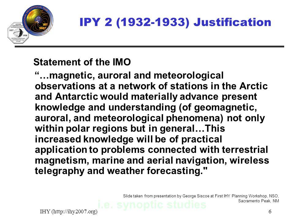 IHY (http://ihy2007.org)6 i.e.