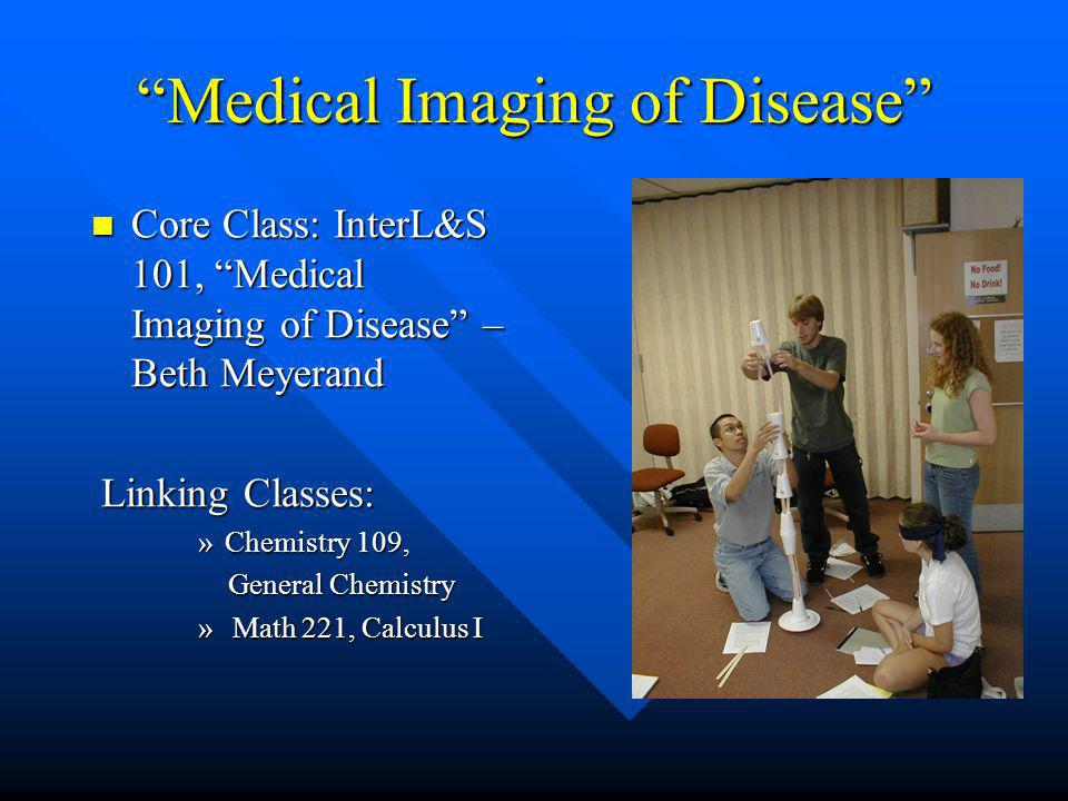 Medical Imaging of Disease Core Class: InterL&S 101, Medical Imaging of Disease – Beth Meyerand Core Class: InterL&S 101, Medical Imaging of Disease –