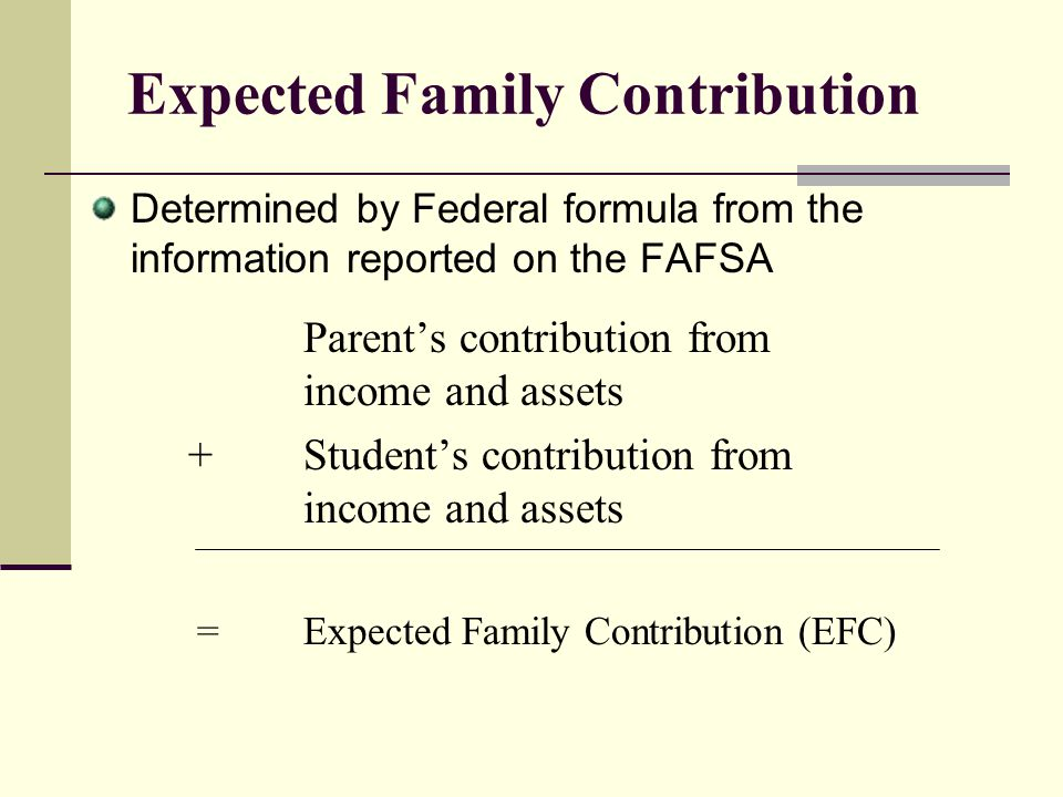 FAFSA Overview Section 1:Student Information Section 2:Student Dependency Status Section 3:Parental Information Section 4:Student Finances Section 5:Colleges to Receive Information