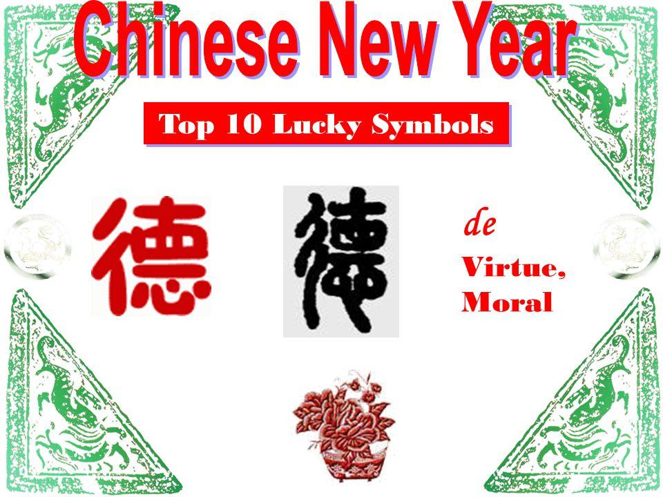 Top 10 Lucky Symbols de Virtue, Moral