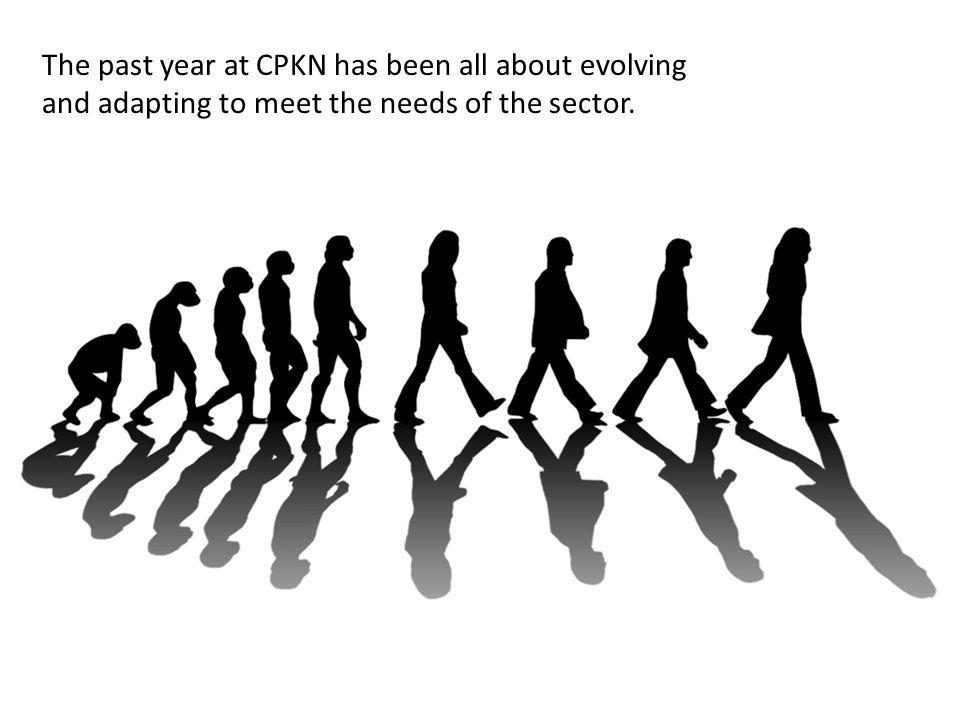 The past year at CPKN has been all about evolving and adapting to meet the needs of the sector.