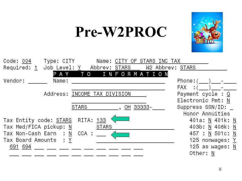 27 Pre-W2PROC Run W2PROC before last pay of 2013 has been completed –Balance to-date data –Review and correct warnings and errors –Do not create the Tape file at this point –W2PROC can be run multiple times