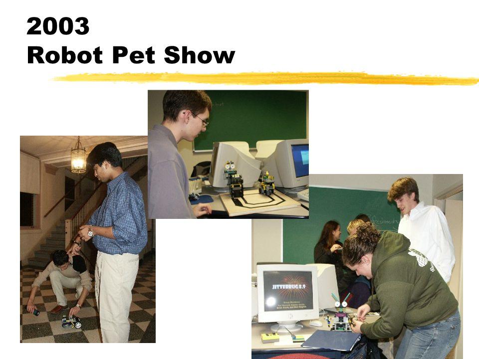2003 Robot Pet Show