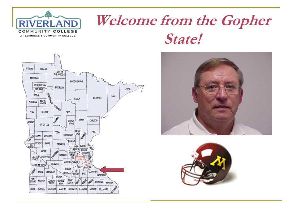 Welcome from the Gopher State!