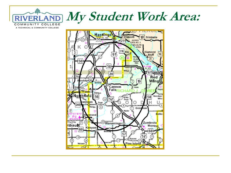 My Student Work Area: